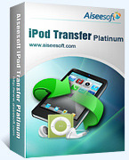 15% Aiseesoft iPod Transfer Platinum Coupon Code