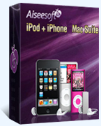 Aiseesoft iPod + iPhone Mac Suite Coupon – 40%