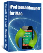 Aiseesoft iPod touch Manager for Mac Coupon – 40%