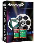 Aiseesoft iPod touch Video Converter for Mac Coupon Code – 40%