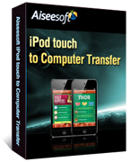Aiseesoft iPod touch to Computer Transfer Coupon – 40%
