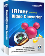 Aiseesoft iRiver Video Converter – 15% Discount