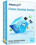 Aiseesoft iTunes Backup Genius – Exclusive 15% off Coupon