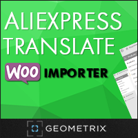 15% off – Aliexpress Translate WooImporter. Add-on for WooImporter.