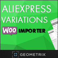 15% OFF – Aliexpress Variations WooImporter. Add-on for WooImporter.