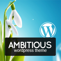 Unique Ambitious – Business & Portfolio WordPress Theme Coupon Discount