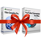 Aneesoft Video Converter Pro and YouTube Converter Bundle for Mac Coupon