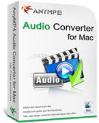 AnyMP4 Audio Converter for Mac Coupon – 20% OFF