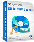 AnyMP4 BD to MKV Backup Lifetime License Coupon – 90%