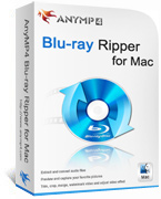 AnyMP4 Blu-ray Ripper for Mac Lifetime License Coupon – 90% Off