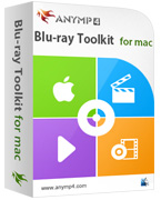 90% AnyMP4 Blu-ray Toolkit Lifetime License Coupon