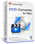 20% OFF AnyMP4 DVD Converter for Mac Coupon