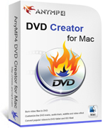 AnyMP4 DVD Creator for Mac Coupon – 20%