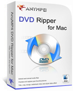 AnyMP4 DVD Ripper for Mac Lifetime License Coupon Code – 90%