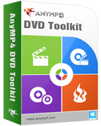 AnyMP4 DVD Toolkit Lifetime License Coupon – 90% OFF