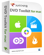 AnyMP4 DVD Toolkit for Mac Coupon – 20%