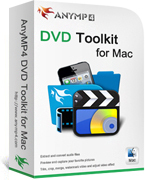 AnyMP4 DVD Toolkit for Mac – Premium Discount