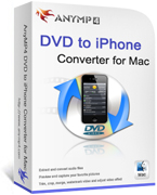20% AnyMP4 DVD to iPhone Converter for Mac Coupon