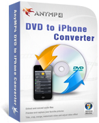 20% Off AnyMP4 DVD to iPhone Converter Coupon Code
