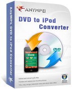 AnyMP4 DVD to iPod Converter Coupon – 20%