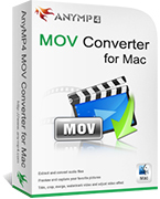 AnyMP4 MOV Converter for Mac Coupon