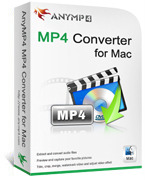 AnyMP4 MP4 Converter for Mac – Special Coupon