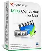 AnyMP4 MTS Converter for Mac Coupon – 20%
