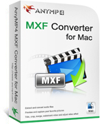 90% AnyMP4 MXF Converter for Mac Lifetime License Coupon Code