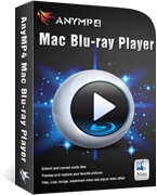 AnyMP4 Mac Blu-ray Player Lifetime License Coupon – 90% Off