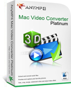 AnyMP4 Mac Video Converter Platinum Coupon Code – 20% Off