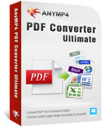 AnyMP4 PDF Converter Ultimate Coupon Code