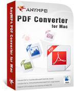 AnyMP4 PDF Converter for Mac Coupon Code