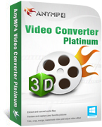 AnyMP4 Video Converter Platinum Coupon Code – 20% OFF