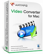 AnyMP4 Video Converter for Mac Lifetime License Coupon – 90%