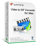 AnyMP4 Video to GIF Converter for Mac Coupon