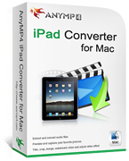 AnyMP4 iPad Converter for Mac Coupon Code – 20% Off