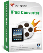 AnyMP4 iPad Converter Coupon – 20%