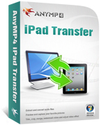 20% AnyMP4 iPad Transfer Coupon
