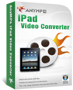 AnyMP4 iPad Video Converter Coupon Code – 20%