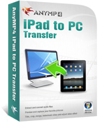 AnyMP4 iPad to PC Transfer Coupon – 20%
