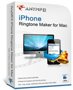 AnyMP4 iPhone Ringtone Maker for Mac Coupon Code – 20%