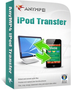 AnyMP4 iPod Transfer Coupon Code – 20% Off