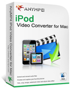 AnyMP4 iPod Video Converter for Mac Coupon Code – 20% OFF