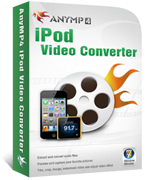 AnyMP4 iPod Video Converter Coupon – 20% OFF