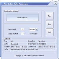 Ares Galaxy Turbo Accelerator Coupon Code – 35%