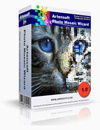 Artensoft Photo Mosaic Wizard-English Coupon Code – 75%