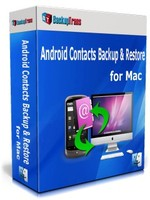 Backuptrans Android Contacts Backup & Restore for Mac (Family Edition) – Exclusive Coupon