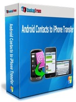 Backuptrans Android Contacts to iPhone Transfer (Business Edition) Coupon