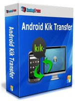 Backuptrans Android Kik Transfer (Business Edition) Coupon
