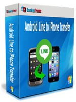 Backuptrans Android Line to iPhone Transfer (Personal Edition) Coupon